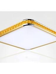 putian @ 24w resplendor Mounte levou luz acrílica dourada moderno, com luz ajustável