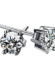 Aimei Women's 925 Silver Fashion Diamonade Earrings