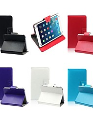 "Faux Leather Stand Flip Case with Magnetic Closure for 7"" Universal Tablet PC (Assorted Colors)"