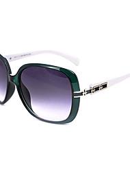 Anti-Reflective Women's Oversized Resin Retro Sunglasses