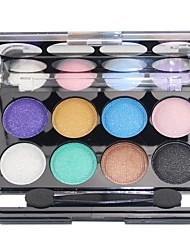8 Eyeshadow Palette Matte / Shimmer Eyeshadow palette Powder Normal