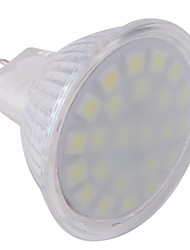 GU5.3(MR16) LED Spotlight MR16 24 SMD 5050 360 lm Cool White AC 220-240 V