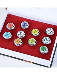Plus d'accessoires Naruto Cosplay Anime Accessoires de Cosplay Alliage
