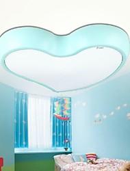 idées d'économie d'énergie LED et lampes de plafond en forme de coeur chaud