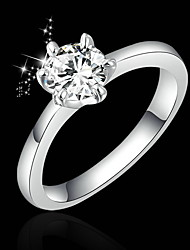 T&C Women's Fashion Alloy Diamond Ring