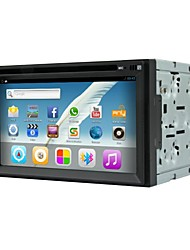 android 4.2 6.2 carro dvd player multi-touch capacitiva polegadas no traço com wifi, gps, rds, ipod, bt, toque, tela, atv,