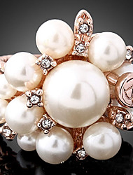 XUAN Fashion Casual High Quality Pearl Ring