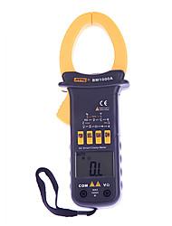 Pantalla digital LCD medidores de pinza multímetro eléctrico szbj bm1000a