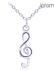 Jewelry Pendant Necklaces Daily Silver Plated Women Silver Wedding Gifts