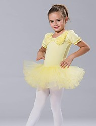 Ballet Dancewear Kids'  Cotton And Tulle Ballet Dress(More Colors) Kids Dance Costumes