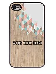 personalizzato phone case - cassa del metallo di disegno strano per iPhone 4 / 4S