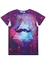 RR BUY Men's Fashion Short Sleeves 3D-Print T-Shirt