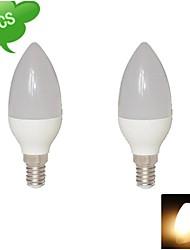 DUXLITE Lâmpada Vela E14 6 W 540 LM 3000 K Branco Quente 15 SMD 3022 AC 85-265 V C35