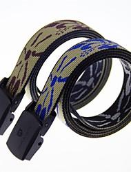 rockway® extérieure en nylon jacquard unisexe boucle deux côtés peut être utilisé étroite ceinture