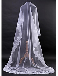 New 1T Lace Veil Wedding Clothing Accessories Bride Veil