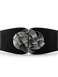 cinturón de metal nudo chino de la mujer