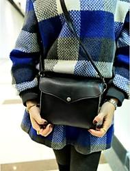 Women's  Faux Leather Crossbody Messenger Mini Shoulder Bag