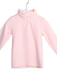 básicos tortuga algodón de cuello camiseta de los niños