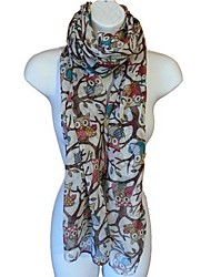 Women Polyester Scarf , Cute/Casual