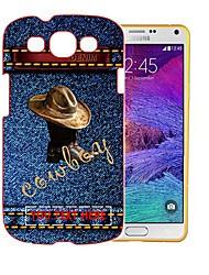 personalisierte Cowboy Bilder Design Plastiktelefonkasten für Samsung s3