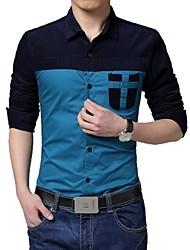 camisa de algodón de la moda de los hombres