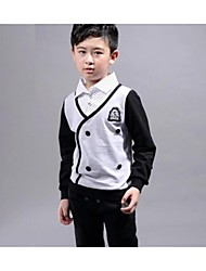 Boy's Cotton Clothing Set,Winter / Spring / Fall Patchwork