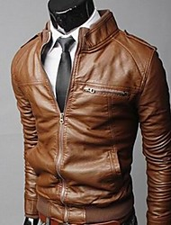 Big Fashion Men's Fashion Motorcycle Jacket