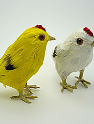 Cute Easter Painted Chicken ,Feather