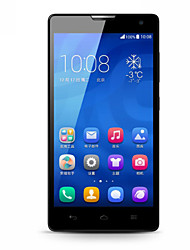 "Huawei 5.0 "" Android 4.4 3G Smartphone (Dual SIM Quad Core 8 MP 1GB + 8 GB White)"
