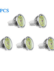 5 pcs GU10 6 W 48 610 LM Warm White/Natural White Spot Lights AC 100-240 V