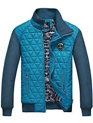 mode casual automne et l'hiver épaissie mince collier de veste pour hommes