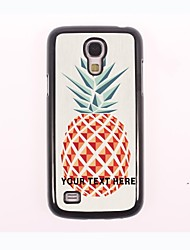 Personalized Phone Case - Pineapple Design Metal Case for Samsung Galaxy S4