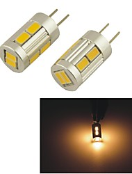 carking ™ g4-5630-10smd portato luci interne lamp - bianco caldo