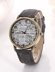 jornal das mulheres de oxford discar relógios de pulso banda de quartzo (cores sortidas) c&d318