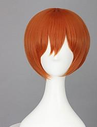 Cosplay Perücken Cosplay Rin Hoshizora Orange Kurz Anime Cosplay Perücken 35 CM Hitzebeständige Faser Frau