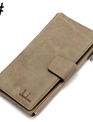 ZORDANY®Men's Fashion Leather Zipper Long Wallet