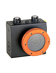 HD1080P - F35B Wide Angle High Definition Mini Waterproof Sports Camera - Black