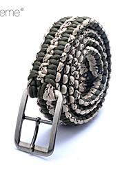 Lureme® Paracord Weave Survival Cord Belt