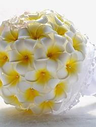 mariage frangipanier commune bouquet de mariée