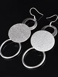Stud Earrings Drop Earrings Jewelry Women Silver 2pcs Silver