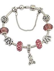 European Style Fashion Institute Wind Bear Bracelet