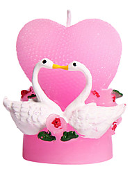 Romantic Valentine's Day Love Candle