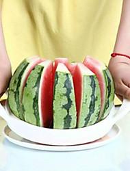 Edelstahl weiß bequeme Wassermelone Schneider Küche Werkzeug Obst slicer20 * 20cm