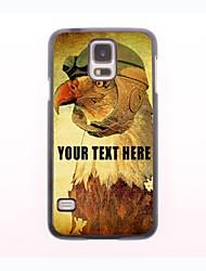 personalisierte Telefon-Fall - Eulenentwurf Metallgehäuse für Samsung-Galaxie s5 Mini
