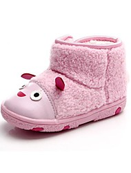BBGOBBWORLD Baby Lambs Wool with Thick Cotton Shoes Antiskid Soft Bottom