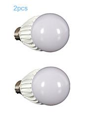 2 pcs MORSEN E26/E27 10 W 1 COB 900-1000 LM Warm White A Dimmable LED Filament Lamps AC 110-130 V