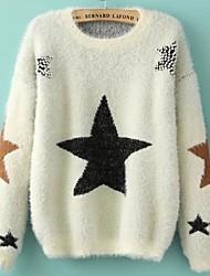 женская водолазка шарики шерсти свитер с длинным рукавом