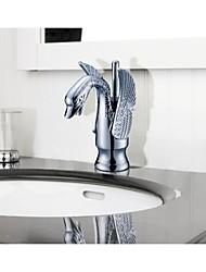 banheiro gooseneck pia misturador de lavatório (S-1001001)