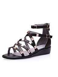 chaussures pour femmes komanic ouverte orteil talon compensé spartiates chaussures plus de couleurs disponibles
