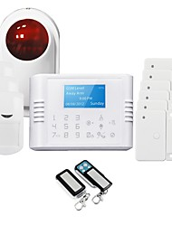 GS-G180E Home Security Systems with Four Languages
